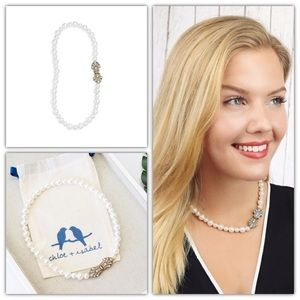 Chloe and Isabel Heirloom Pearl Deco Necklace